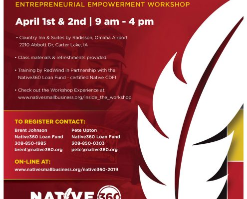 Free 2-Day Native American Entrepreneurial Empowerment Workshop